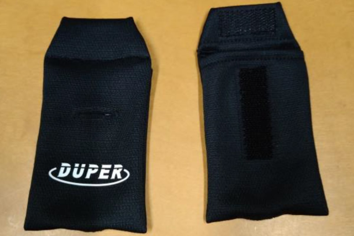 【2月末入荷予定】デューパー DUPER ホイッスルカバー(ブラック)【AC-120】【返品・交換不可】