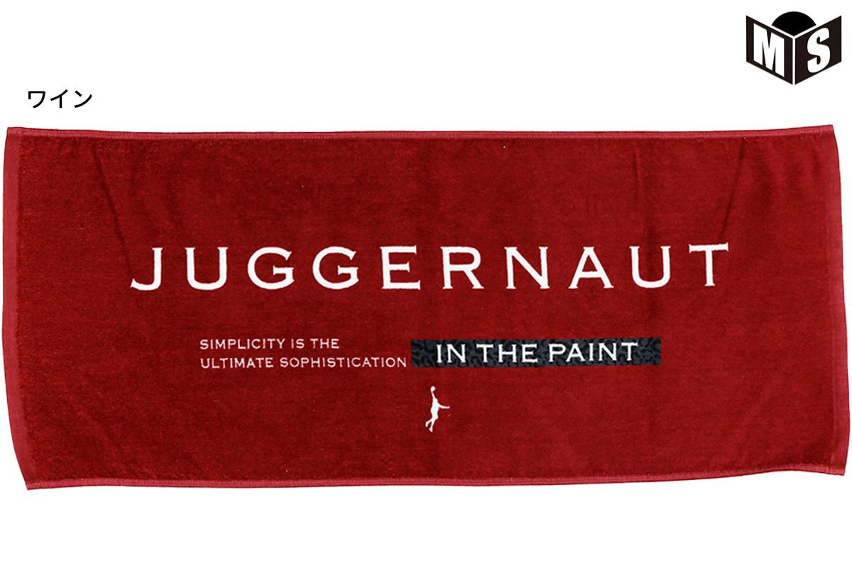 【3色展開】インザペイント IN THE PAINT JUGGERNAUTタオル 【ITP21423】
