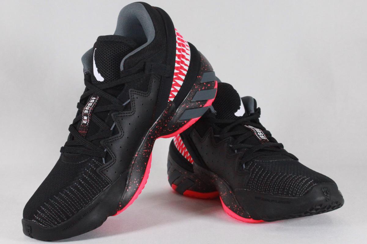 ★▲☆アディダス adidas D.O.N. ISSUE #2 ヴェノム ドノバン・ミッチェル(コアブラック/シグナルピンク/フットウェアホワイト)【FW9038】【返品・交換不可】