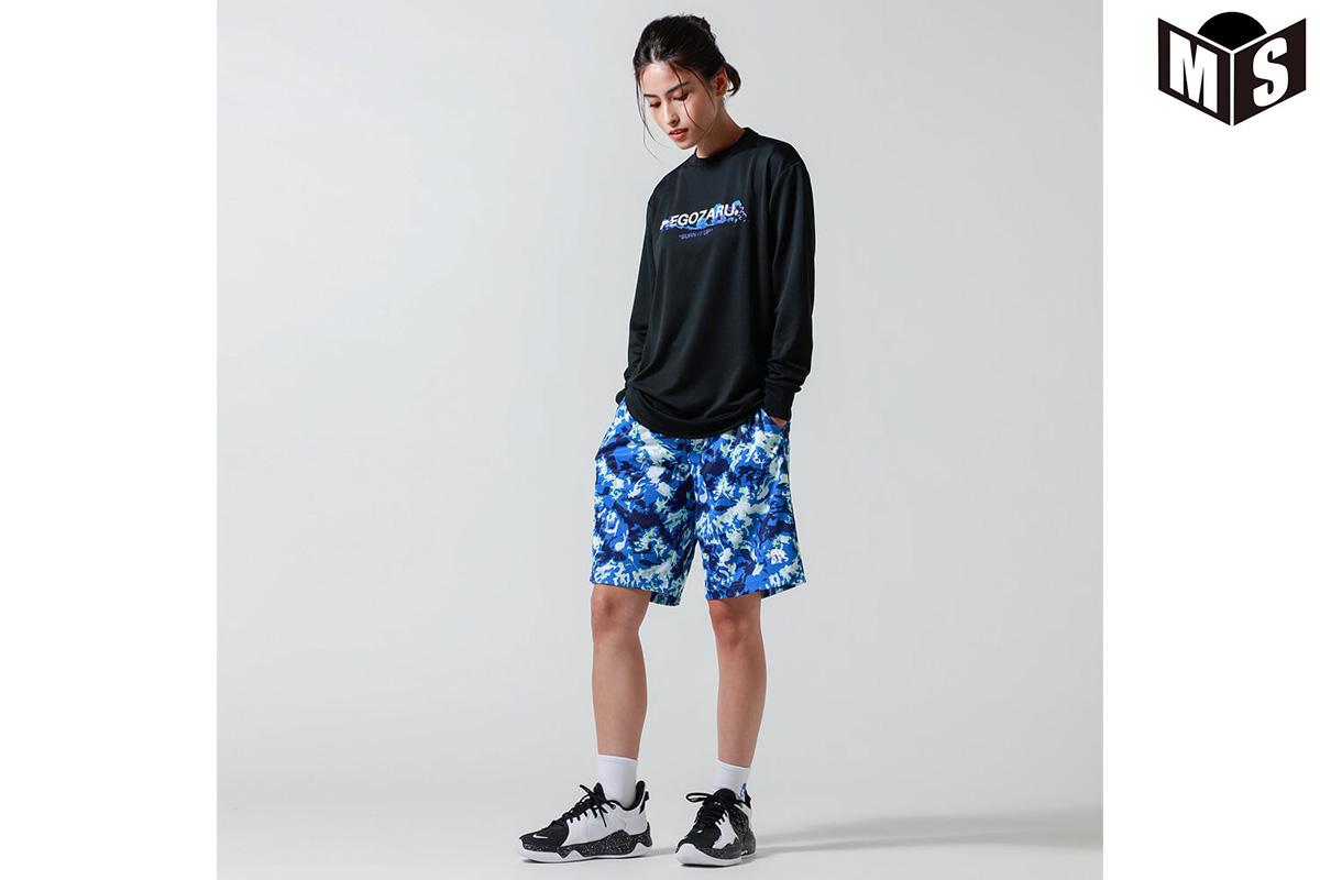 【2色展開】エゴザル EGOZARU BURNDASHロングTシャツ【EZLT-F2116】