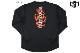 【2色展開】エゴザル EGOZARU FLAME BACKPRINTロングTシャツ【EZLT-F2117】