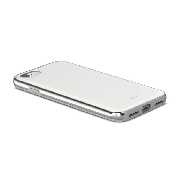 moshi iGlaze for iPhone SE(2)/7/8 (Pearl White)【ポイント10倍】