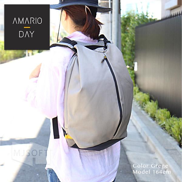 AMARIO DAY DP  メンズ レディース MacBook 13インチ対応 リュック アマリオ デイパック  父の日 親水性【ポイント10倍】【送料無料(沖縄県を除く)】