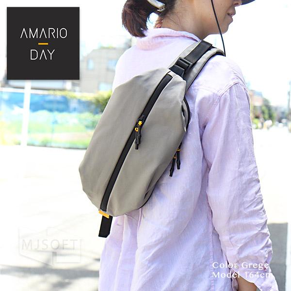 AMARIO DAY BB  メンズ レディース iPad mini対応 ボディーバッグ ワンショルダー アマリオ デイ  8インチタブレット対応 父の日【ポイント10倍】【送料無料(沖縄県を除く)】