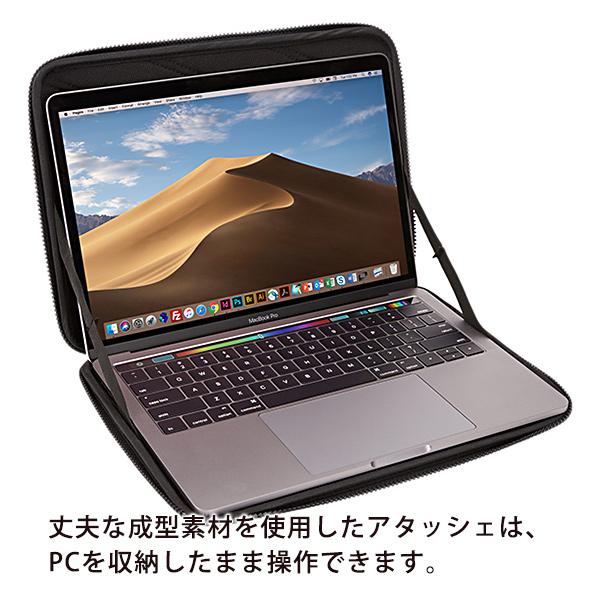 MacBook Pro 13インチ対応 スリーブ アタッシェ スーリ ガントレット THULE Gauntlet 4 MacBook Pro Sleeve 13【ポイント10倍】