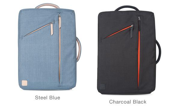 moshi Venturo (ベンチュロ) (Charcoal Black/ Steel Blue)【ポイント10倍】【送料無料(沖縄県を除く)】
