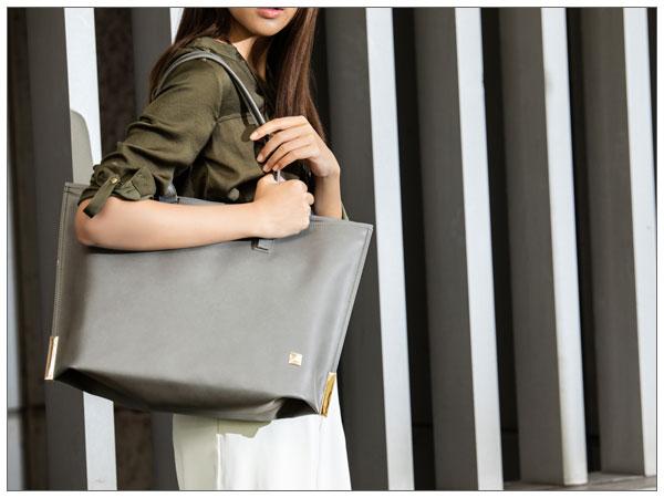 moshi Aria (Vegan Leather Model) Mountain Grey【ポイント10倍】【送料無料(沖縄県を除く)】