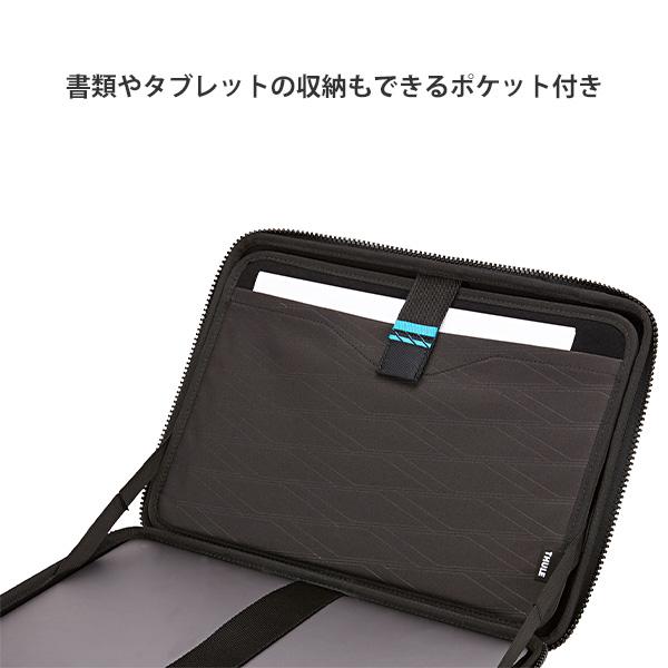 MacBook Pro 16インチ 15インチ対応 スリーブ アタッシェ スーリ ガントレット THULE Gauntlet 4 Attache 15/16 ブラック【送料無料(沖縄県を除く)】