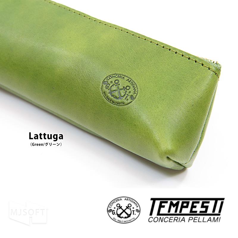 TEMPESTI テンペスティ TA-001 ペンケース 牛革 エルバマット ギフト 父の日 母の日 日本製【ポイント10倍】
