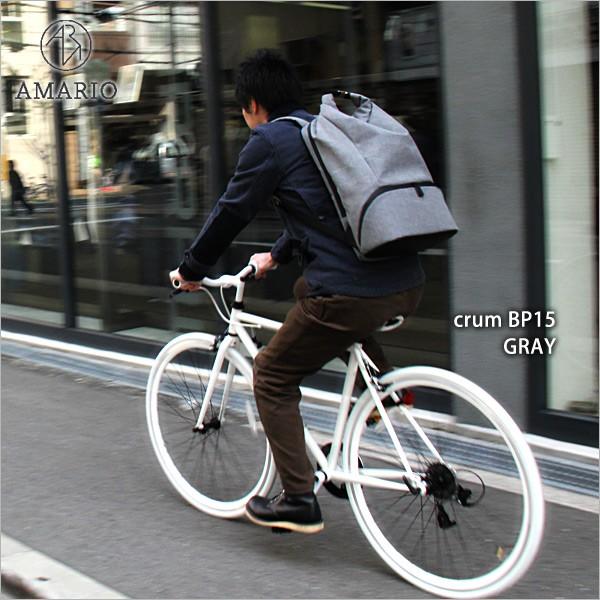 AMARIO crum BP15 [アマリオ クルム バックパック 15]【ポイント10倍】【送料無料(沖縄県を除く)】