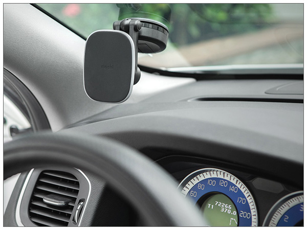 moshi SnapTo Universal Car Mount (Gray)【ポイント10倍】
