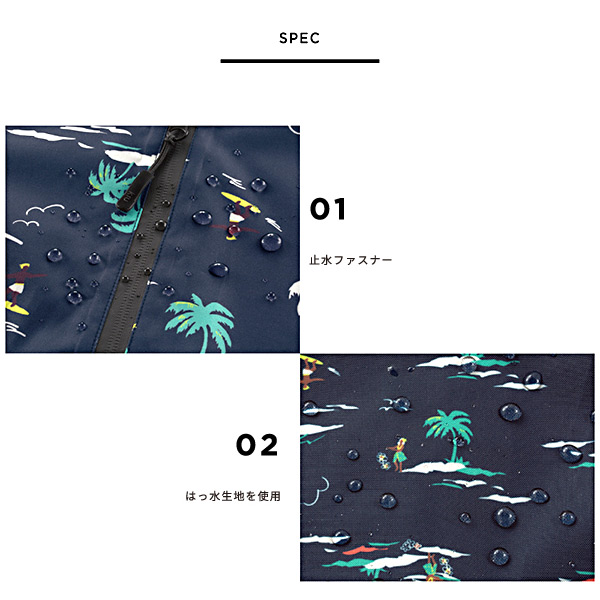 kiu WATERPROOF SACOCHE W ZIPPER キウ ウォータープルーフ サコッシュ ダブルジッパー レインウェア バッグ ショルダー 防水【ポイント10倍】