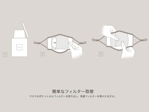 moshi OmniGuard Mask 【ポイント10倍】