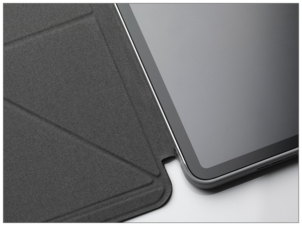 moshi VersaCover for iPad Pro 12.9inch (5th Gen.) Charcoal Black【ポイント10倍】【送料無料(沖縄県を除く)】