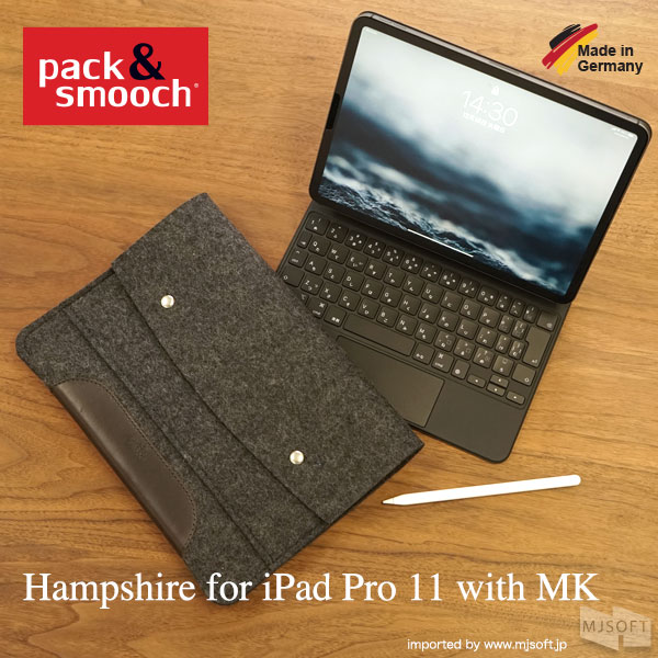 Pack&Smooch Hampshire for iPad Pro with MK [iPad Pro 11インチ/Air 10.9インチ/ Pro 12.9インチ(第3/4世代)対応]
