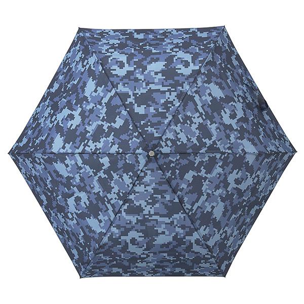 折りたたみ傘 ピクセルカモ 手動モデル ウラワザ urawaza  3秒で折りたためる傘 ギフト 通勤 ユニセックス UVカット テフロン加工 軽量 撥水性