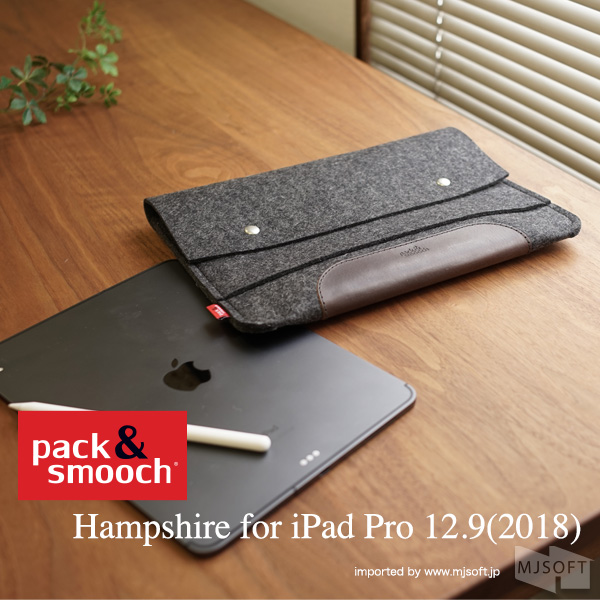 Pack&Smooch Hampshire for iPad Pro (12.9inch 2018) [パックアンドスムーチ]