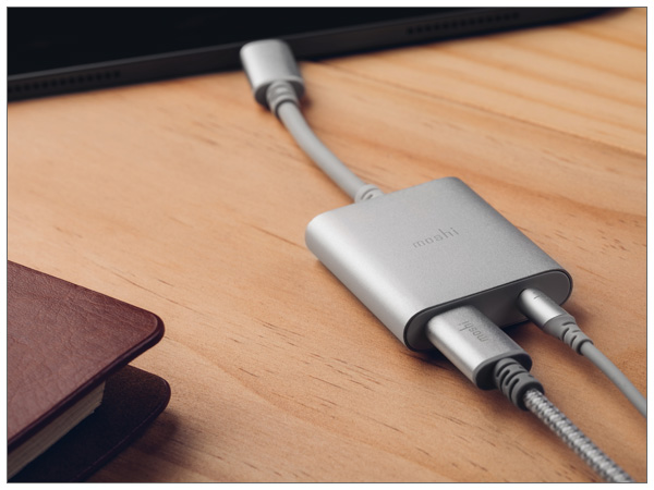 moshi USB-C Digital Audio Adapter with Charging (96kHz モデル)【ポイント10倍】
