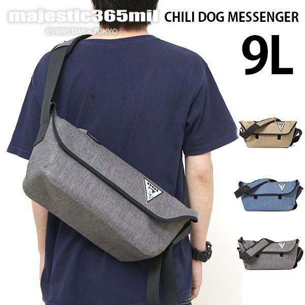 マジェスティックミル チリドッグ メッセンジャー Majestic365mil Chili Dog Messenger 防水 ショルダー メンズ レディース ポイント10倍【ポイント10倍】
