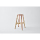 【stool】PW stool(redorange)