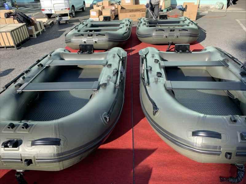 BEE 285AR/エアートランサム艇/ODカラー