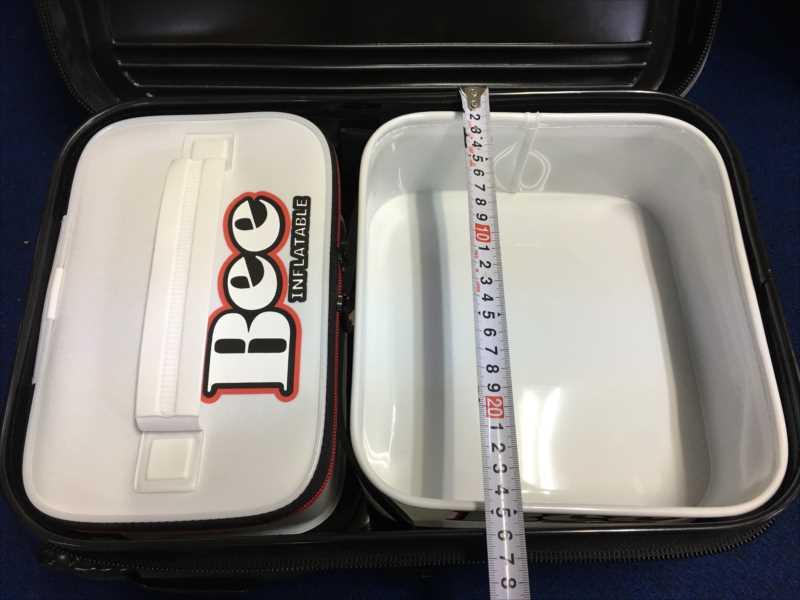 船内を有効に使う!床やチューブに固定/3種類の「BEEチューブバッカンシリーズ」