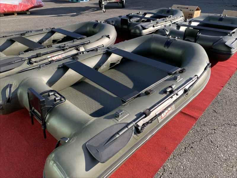 BEE 275AR/170cm幅ワイドボデイー/エアートランサム艇/ODカラー