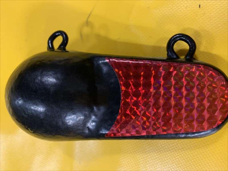 ルアーを動かす!人気のオーバル型/重さは1.8〜5.4kg