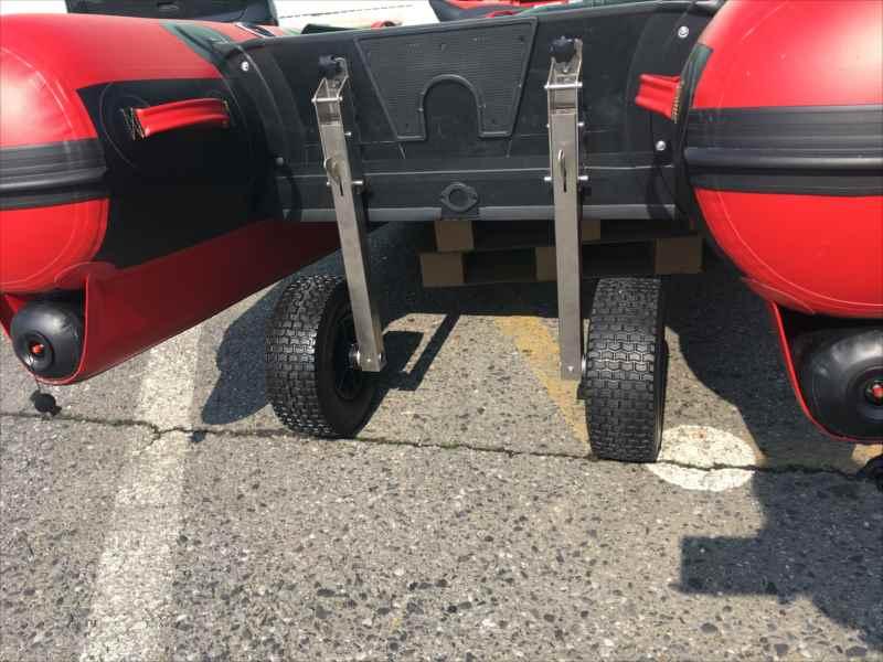 サーフドーリー1ステンレス製/6インチノンパンクワイドタイヤ装着/強化プレート付