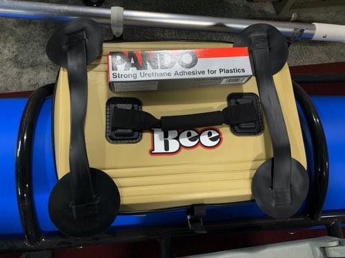 クーラー代わりに「BEE クールバッカン40cm/18cm高」4月発売
