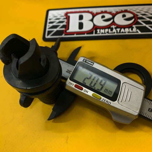 BEE&ゼファー/汎用フラット型バルブアダプター/2種パッキン付/送料込