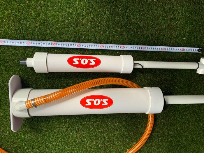 シンプル&ハイパワー/SOSジャンボハンドポンプ 70cm