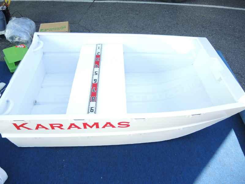 廃盤/最小アルミボート/Karamas「パント165/180」サイドフロート標準装備