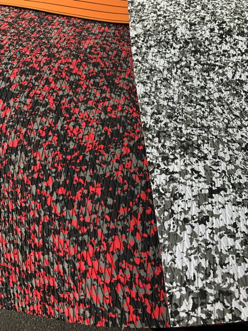 EVAノンスリップマット230/70cm /REDカラー