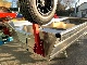 人気です!ハンドル操作で4段階/BEEアルミ製サーフドーリー�/赤いドーリー