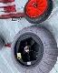 人気の赤いドーリー!ハンドル操作で4段階/BEEアルミ製REDサーフドーリー2