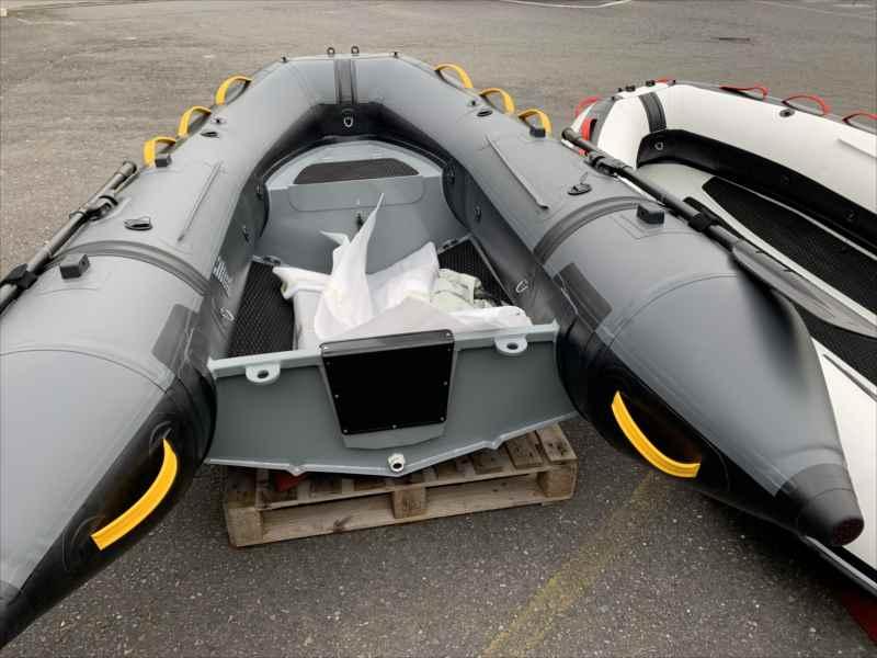 軽量アルミボトム リブボートBEE 300RIB�-43�/船体46�