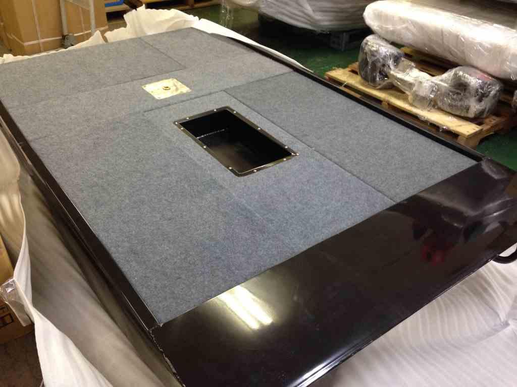 フットペダル用 埋め込みペダルBOX