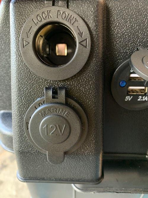 送料込!スマートバッテリーケース4+M27MF 105A新品バッテリー付/西濃配送