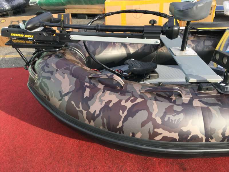 フットエレキ付!フル装備 BEE 305KTM/43cm/Bass Special
