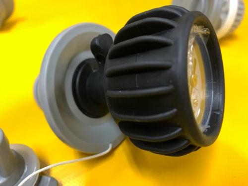 空気圧の測定用 PSI エアーゲージ/バルブに差し込むだけ