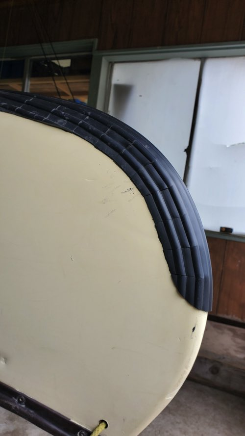 軽量/カンタン補強貼付け/BEEバンパーシート(幅23�/長さ1m/350g)