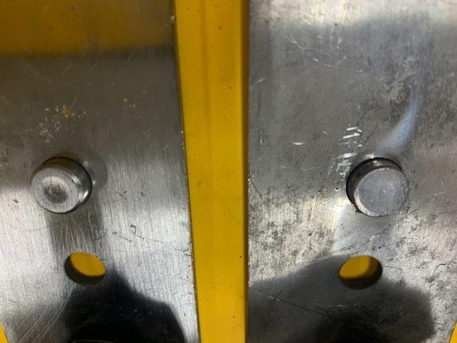 サーフドーリー1/ステンレス用強化プレート/ノーマルプレート&固定ノブ
