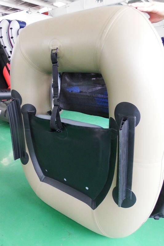 畳みやすい30cm・丈夫な肉厚キール/船底保護&静止・直進安定にオススメ!