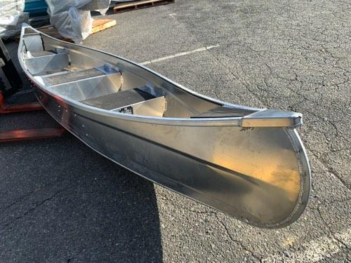 新型 アルミ製カナディアンカヌー16ft
