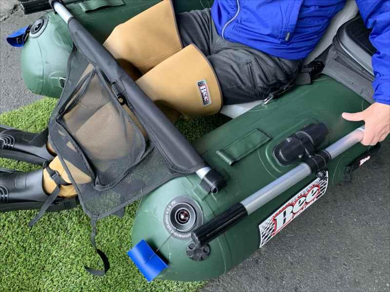 履くだけで落ちない形状記憶素材/自立するヒップウエダーです/台湾製