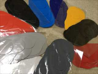現場でもカット済「PVC カンタンパッチ補修セット9枚/18枚」各カラー