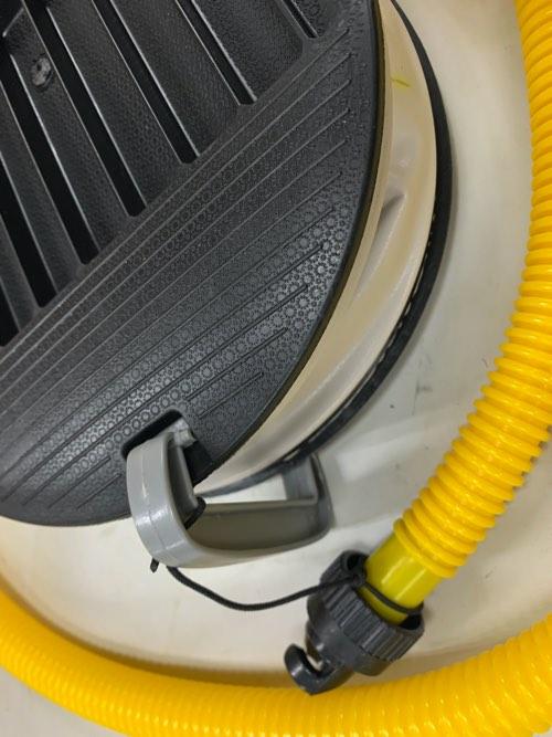送料込み!PVC小型ボート&フローター充填フットポンプ 5hp/30Kpa