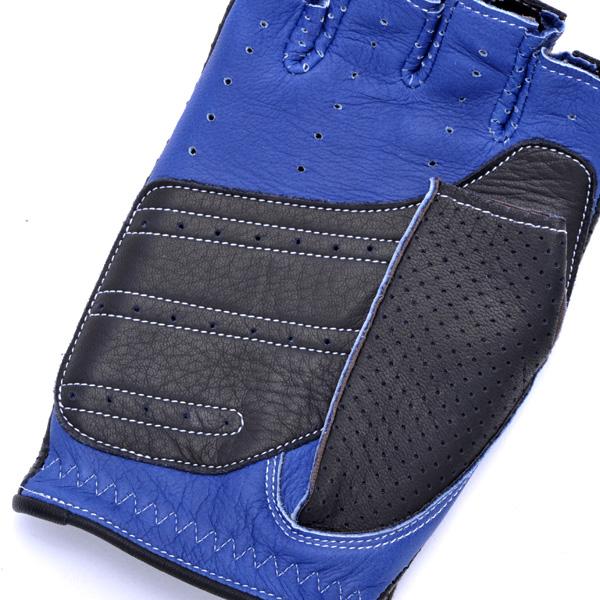 【予約商品:納期5月下旬から6月上旬】カカザン ドライビンググローブ CACAZAN DDR-071R ブラック ブルー