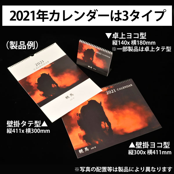 カメラマン 2021カレンダーシリーズ 08 大和田良 「IN BETWEEN 2021」